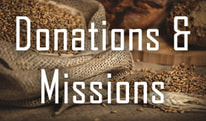 Donations and Missions